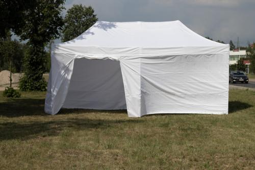Pop Up portatīvs saliekamā telts ar sienām 3x6 m, N sērija - alumīnija rāmis 50x50x1.8 mm