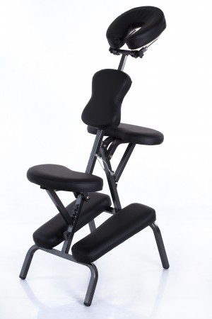 RESTPRO® RELAX Black Massage Stool