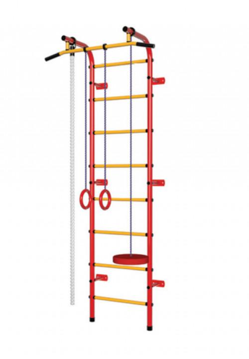 Bērnu zviedru siena Pioner-C1P sarkan-dzeltens
