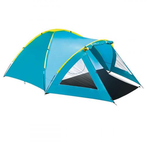 Tourist tent Bestway Pavillo (2.10+1.40)x2.40x1.30 m Activemount 3 Tent 68090