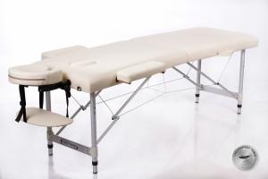 RESTPRO® ALU 2 (S) Cream Portable Massage Table