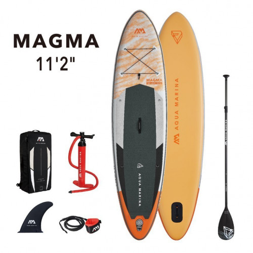 SUP dēlis Aqua Marina MAGMA, 340x84x15 cm (BT-21MAP)