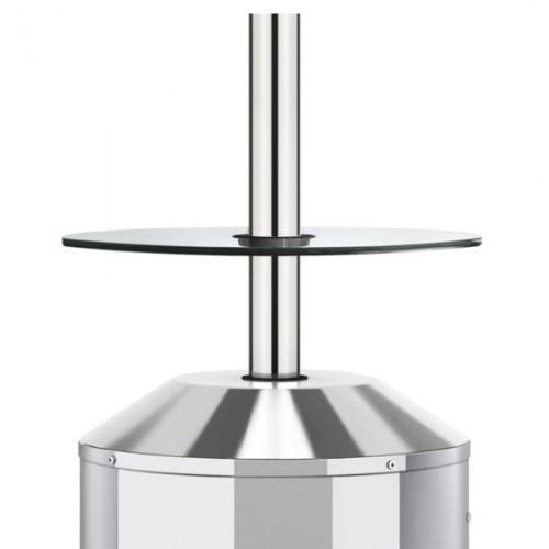 Stikla galds sildītājam Elegance