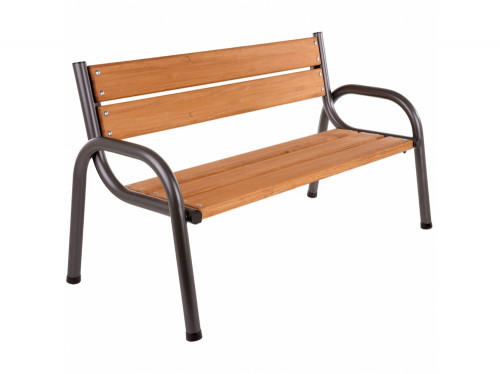 Garden bench with backrest,150х74х86 cm