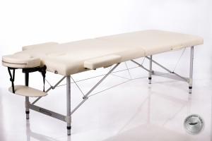 RESTPRO® ALU 2 (L) Cream Portable Massage Table