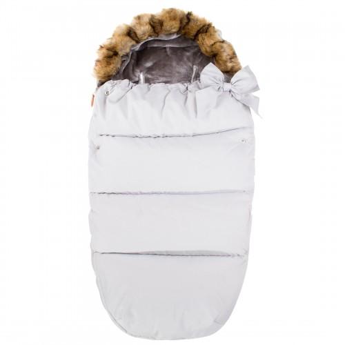 Детский спальный мешок для прогулок SB005 белый