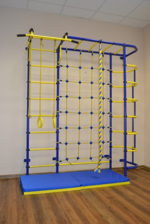 Bērnu sporta komplekss Pioner C5C zili-dzeltens