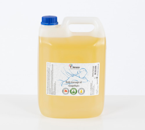 Body massage oil Verana Professional, Grapefruit 5 L
