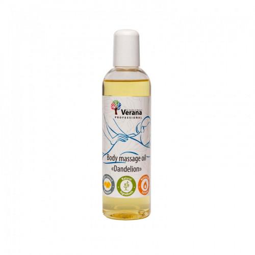 Ķermeņa masāžas eļļa Verana Professional, Pienene 250ml