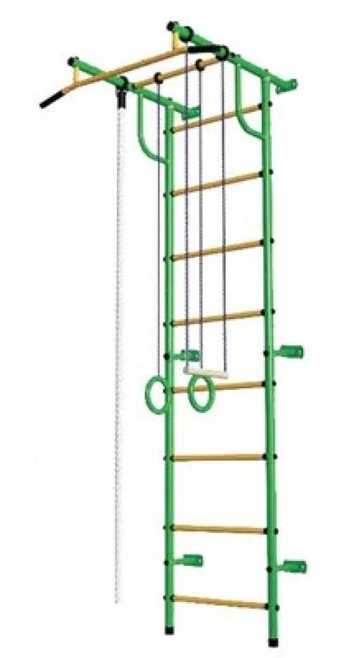 Bērnu zviedru siena Pioner-C2P zaļi-dzeltens