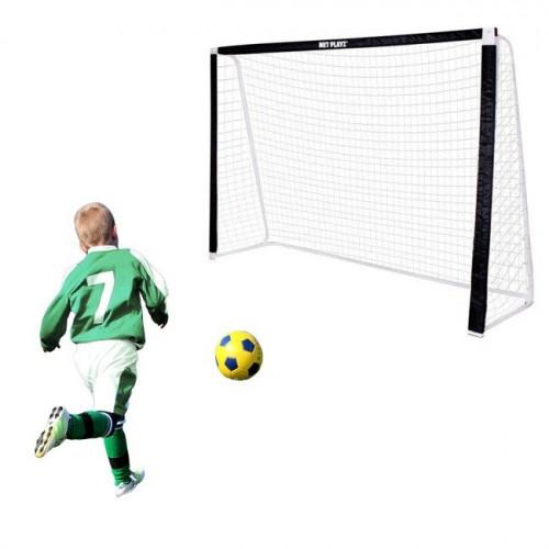 Futbola vārti ar tīklu, 360х200х90 cm