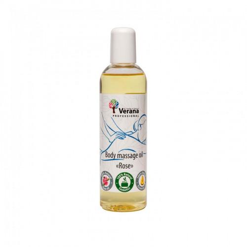 Masāžas eļļa ķermenim Verana Professional, Roze 250ml