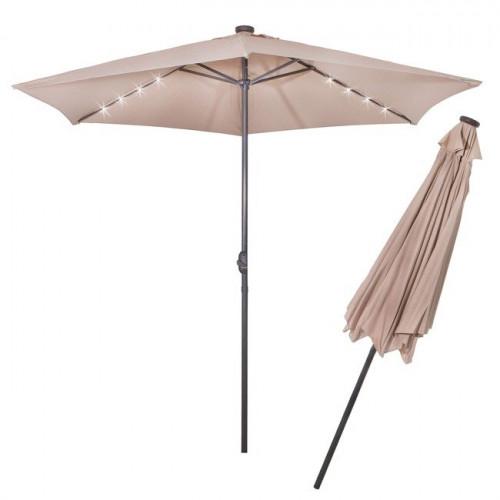 Солнцезащитный зонт с подсветкой 3 м