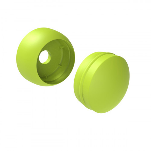 Plastic bolt cover 12 mm, green
