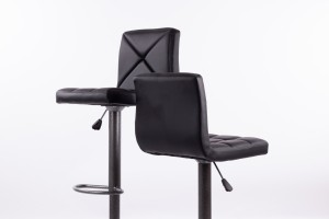 Bar chairs B06-1 black 2 pcs.