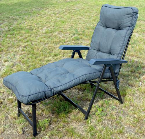Krēsls LENA 60x150 cm, pelēks