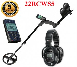 Metal detector XP Deus 22 RC WS5 with 22cm coil and WS5 headphones