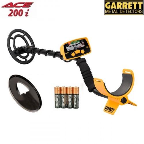 Metāla detektors Garrett ACE 200i + DĀVANAS