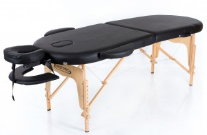 RESTPRO® Classic Oval 2 Black Portable Massage Table