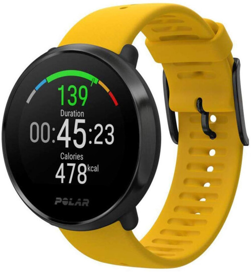 Спортивные часы POLAR IGNITE YELLOW-BLACK, M/L