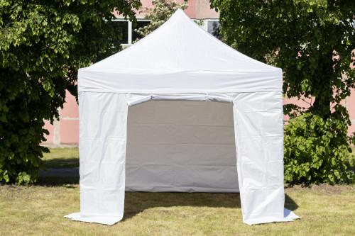 Pop Up portatīvs saliekamā telts ar sienām 2.92x2.92m, H sērija - tērauda rāmis 30x30x0.6 mm