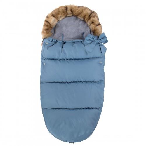 Детский спальный мешок для прогулок SB001 синий