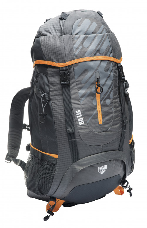 Backpack Pavillo Ultra Trek 60L, Grey 68082
