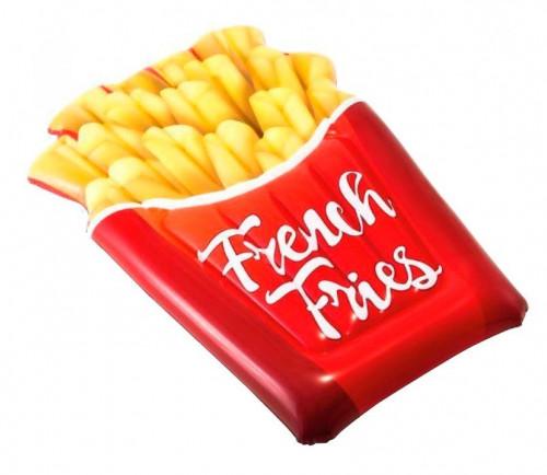 "Inflatable Beach Mattress ""French Fries"", Intex 175x132 cm (58775)"
