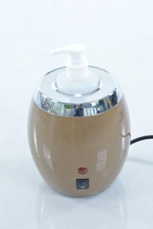 Masāžas eļļas sildītājs ar vienu pudeli