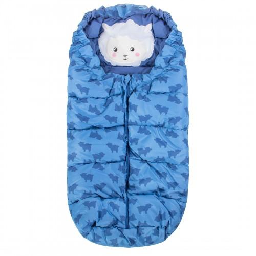 Детский спальный мешок для прогулок SB006 лазурный