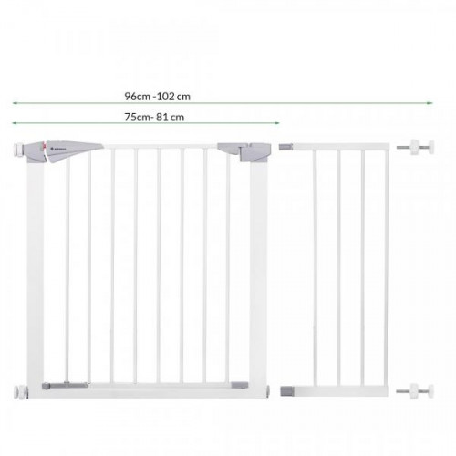 Kids Safety Door Gate 75-124 cm (SG004-SG004C-SG004B)