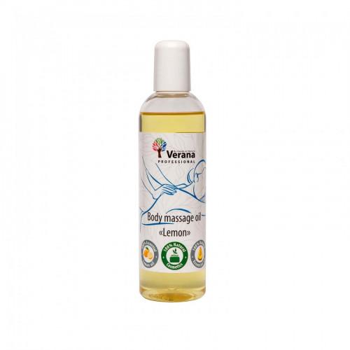 Masāžas eļļa ķermenim Verana Professional,Citrons 250ml
