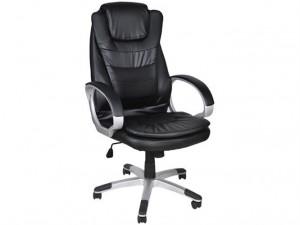 Datorkrēsls biroja krēsls, Melns 2731