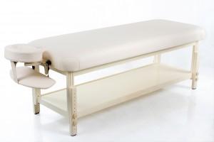 Massage table Classic-Flat Beige