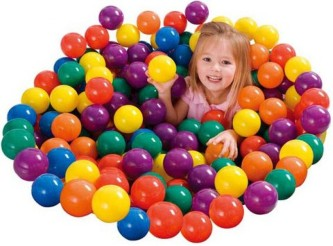 Intex 49602NP small balls 100pcs (6.5cm)