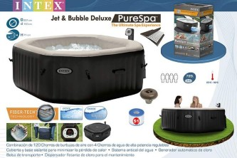 Intex PureSPA Jet and Bubbles Deluxe Massage Set (28454GN)