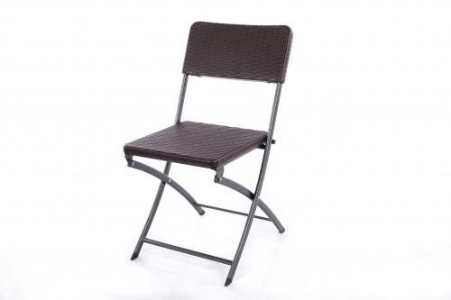 Saliekamais krēsls ar rotangpalmas dizainu