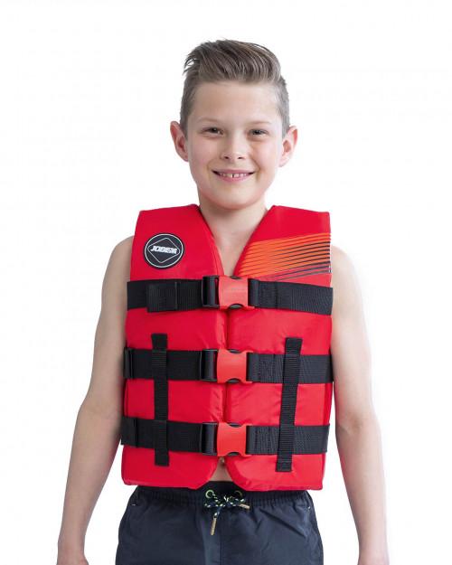 Jobe Nylon Life Vest Kids Red