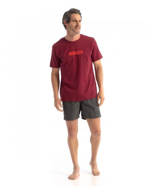 Jobe Casual T-Shirt Burgundy