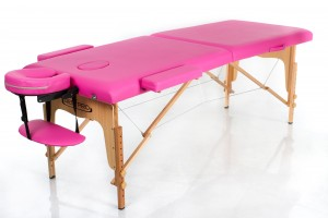 RESTPRO® Classic-2 Pink Portable Massage Table