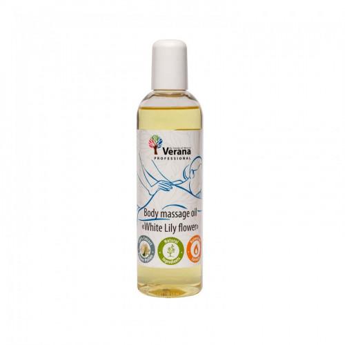 Массажное масло для тела Verana Professional, Белая Лилия 250мл