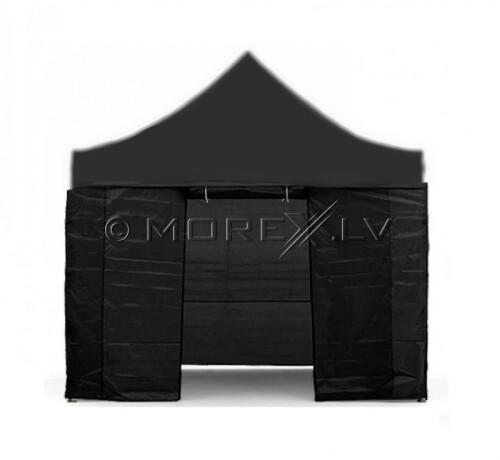 Sienas nojumei, 3x3 m, 4 gab., melna krāsa, auduma blīvums 260 g/m2