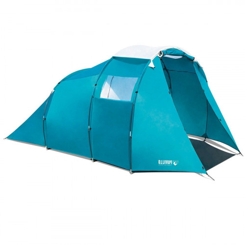 Tourist tent Bestway Pavillo (3.05+0.95)x2.55x1.80 m Family Dome 4 Tent 68092