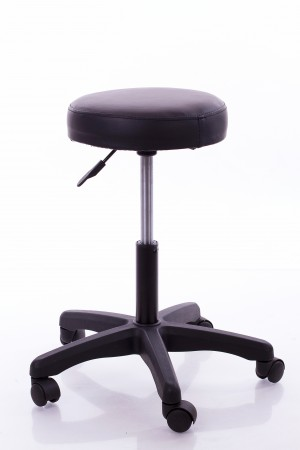 Stool for Master RESTPRO® Round 1 black