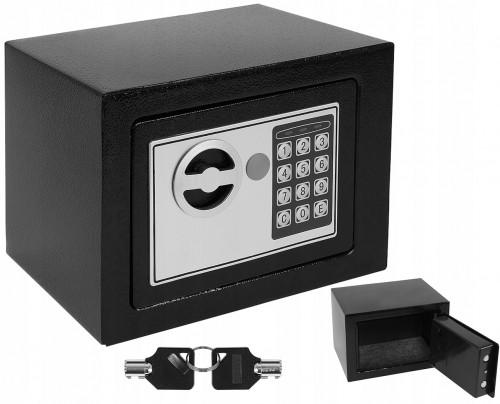 Elektroniskais digitālais seifs, 23x17x17 cm