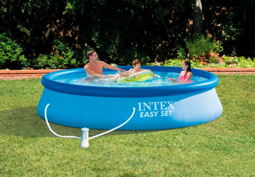 Baseins Intex Easy Set Pool 366х76 cm, ar filtra sūkni (28132)