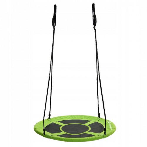 Swing Stork's nest, Ø 90 cm, green-black