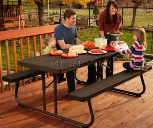 Lifetime 6ft 183cm saliekamais piknika galds (USA)