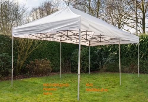 Pop Up portatīvs saliekamā telts 3x6 m, N sērija - alumīnija rāmis  ( nojume paviljons )
