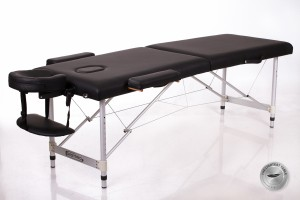 RESTPRO® ALU 2 (S) Black Portable Massage Table